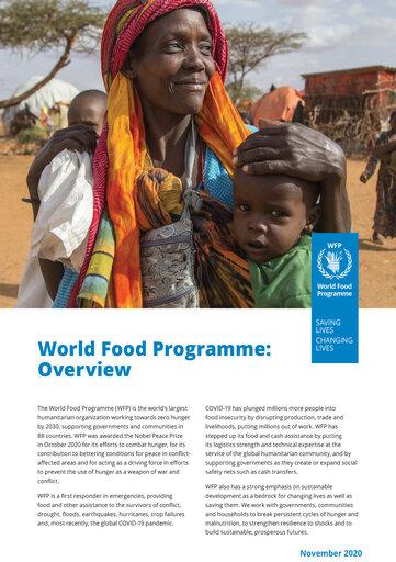 2020 oversikt - FNs World Food Programme