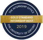 Internship Programme Award badge from University of Oxford