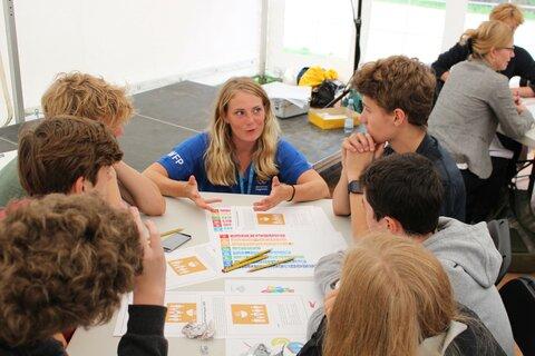 Møt praktikantene på WFPs nordiske kontor
