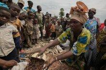 WFP når rekordhøye 5 millioner mennesker i Den demokratiske republikken Kongo i et år preget av økende sult