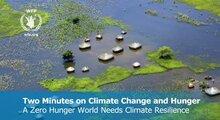 To minutter på klimaendringer og sult