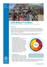WFP kontantoverføringer: styrke mennesker, markeder og regjeringer - 2020